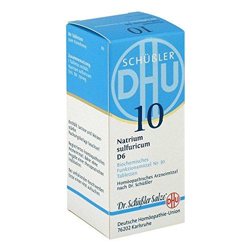 DHU Schüßler-Salz Nr. 10 Natrium sulfuricum D6 Tabletten, 80 St. Tabletten