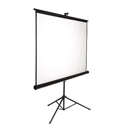 elunevision portátil - Pantalla de proyector con trípode: Amazon ...