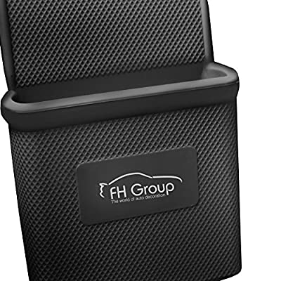 FH Group FH3022BLACK Black Silicone Car Vent Mounted Phone Holder (Smartphone works with IPhone Plus Galaxy Note Black Color): Automotive