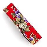 LIFEMATE Camera Strap Universal Shoulder Neck Strap for All SLR/DSLR Camera-Flower (red)