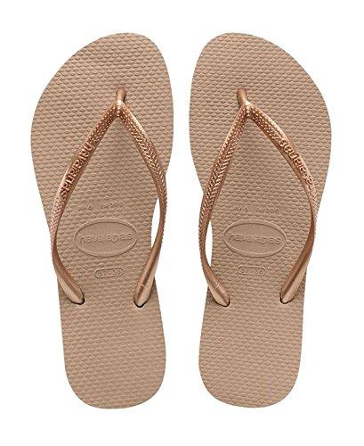 Havaianas Donna Slim Flip Flop Oro Rosa