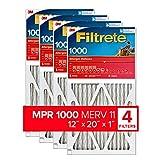Filtrete 12x20x1, AC Furnace Air Filter, MPR