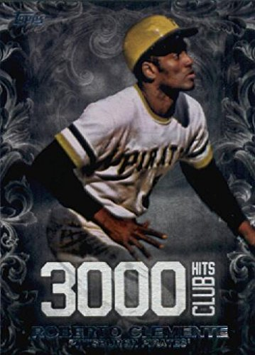 2016 Topps Update 3000 Hit Club #3000H-19 Roberto Clemente Pittsburgh Pirates Baseball Card-MINT
