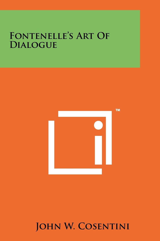 Download Fontenelle's Art Of Dialogue pdf epub