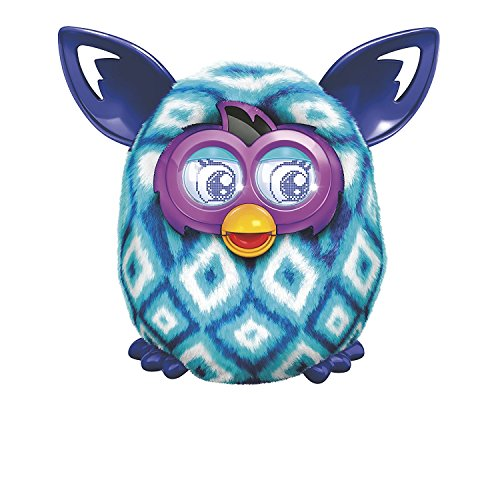 51HY9WKkXqL - Furby Boom Blue Diamonds Plush Toy
