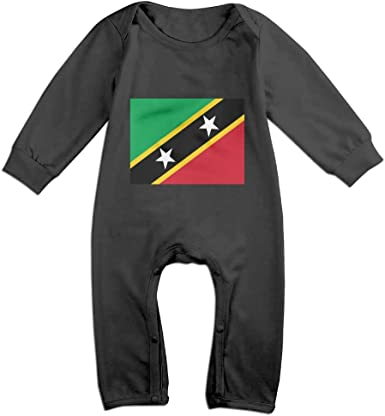 Long Sleeve Cotton Bodysuit for Baby Boys and Girls Soft North Carolina Map Playsuit