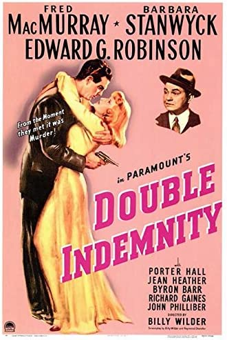 "Amazon.com: Double Indemnity POSTER (27"" x 40""): Posters & Prints"