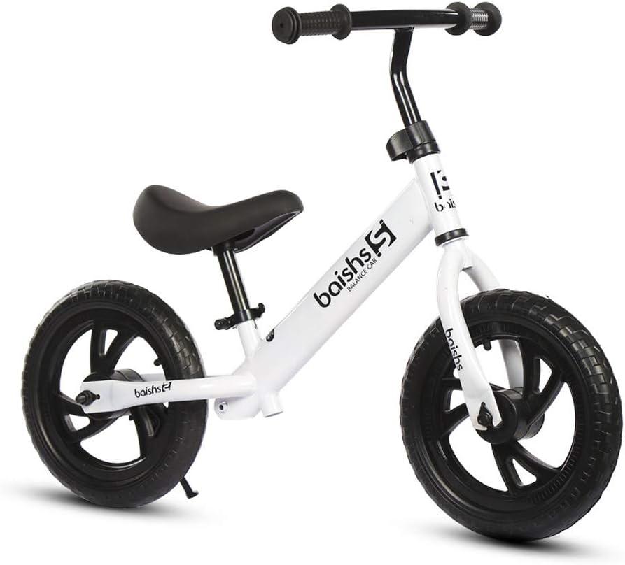 XMAGG® 12'' Bicicleta sin Pedales, No Pedal Walking Balance Entrenamiento Bicicleta para niños de 2 a 6 años