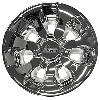 GTW (Set of Four) 8 inch Drifter Wheel Covers (Chrome)