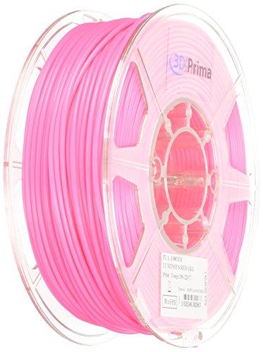 2 opinioni per PrimaPLA™ Filamento per stampante 3D- PLA- 3mm- 1 kg bobina- Rosso (Glow in the