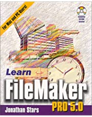 Learn File Maker Pro 5.0 with CDROM
