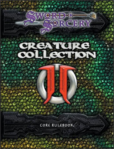Pdf Science Fiction Sword & Sorcery Creature Collection II: Dark Menagerie (Core Rulebook)