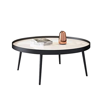 Round Coffee Table Low 1