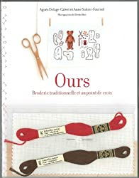 Ours : Broderie traditionnelle et au point de croix