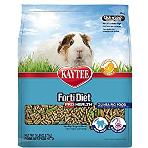Kaytee Forti Diet Pro Health Guinea Pig Food, 5-Pound