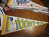 Robin Yount Milwaukee Brewers 1992 Baseball Pennant