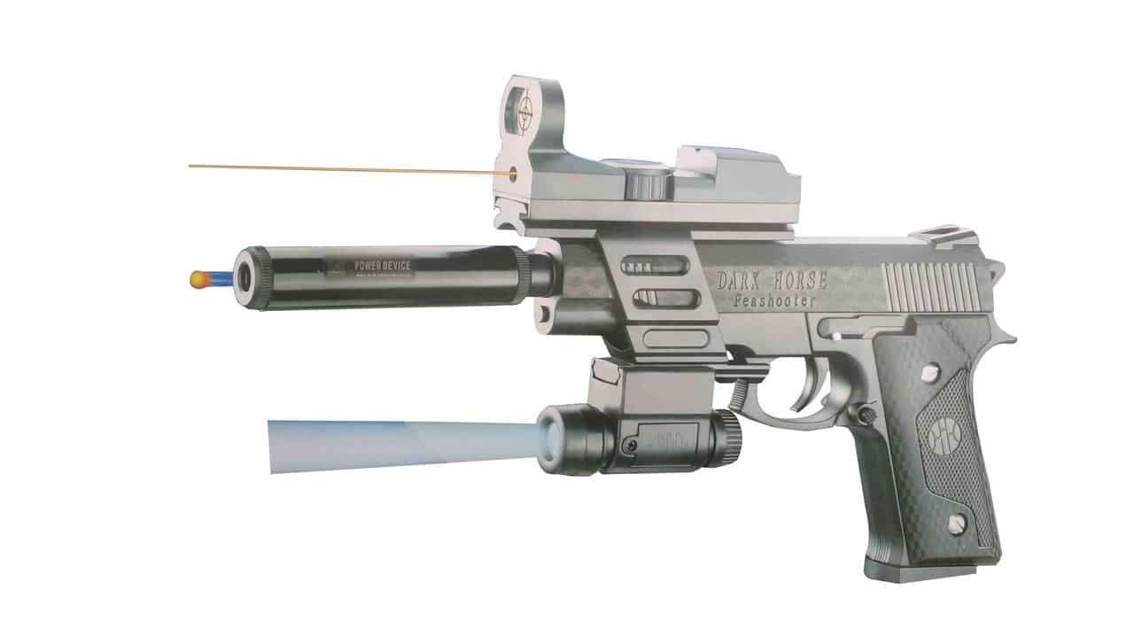 Buy PTCMART Dark-Horse Gun for kids Online at Low Prices in