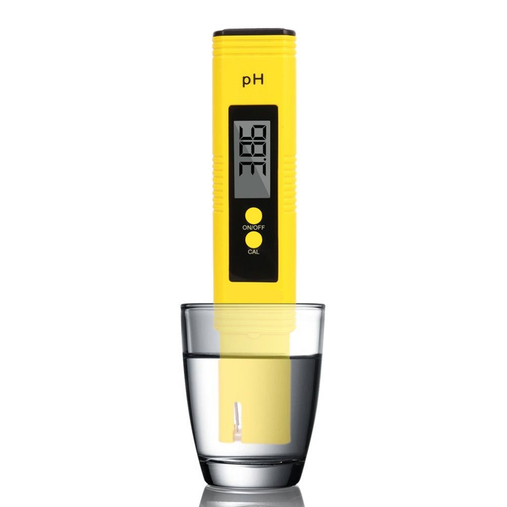 Dr. Prepare pH Meter.0.01 Resolution Water Quality Tester with ATC 0-14 pH Measurement Range for Drinking Water Hydroponics, Aquarium, Pool & Food