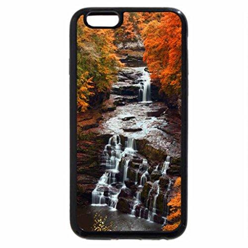 iPhone 6S Case, iPhone 6 Case (Black & White) - Autumn Splendour