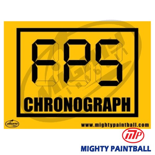 (MP Chrono Safety Sign Board)