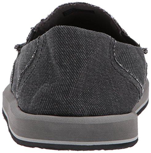 Sanuk Hombres Pick Pocket Denim Loafer Black