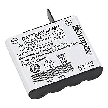 CefarCompex Compex Uni Batería color blanco tamaño único