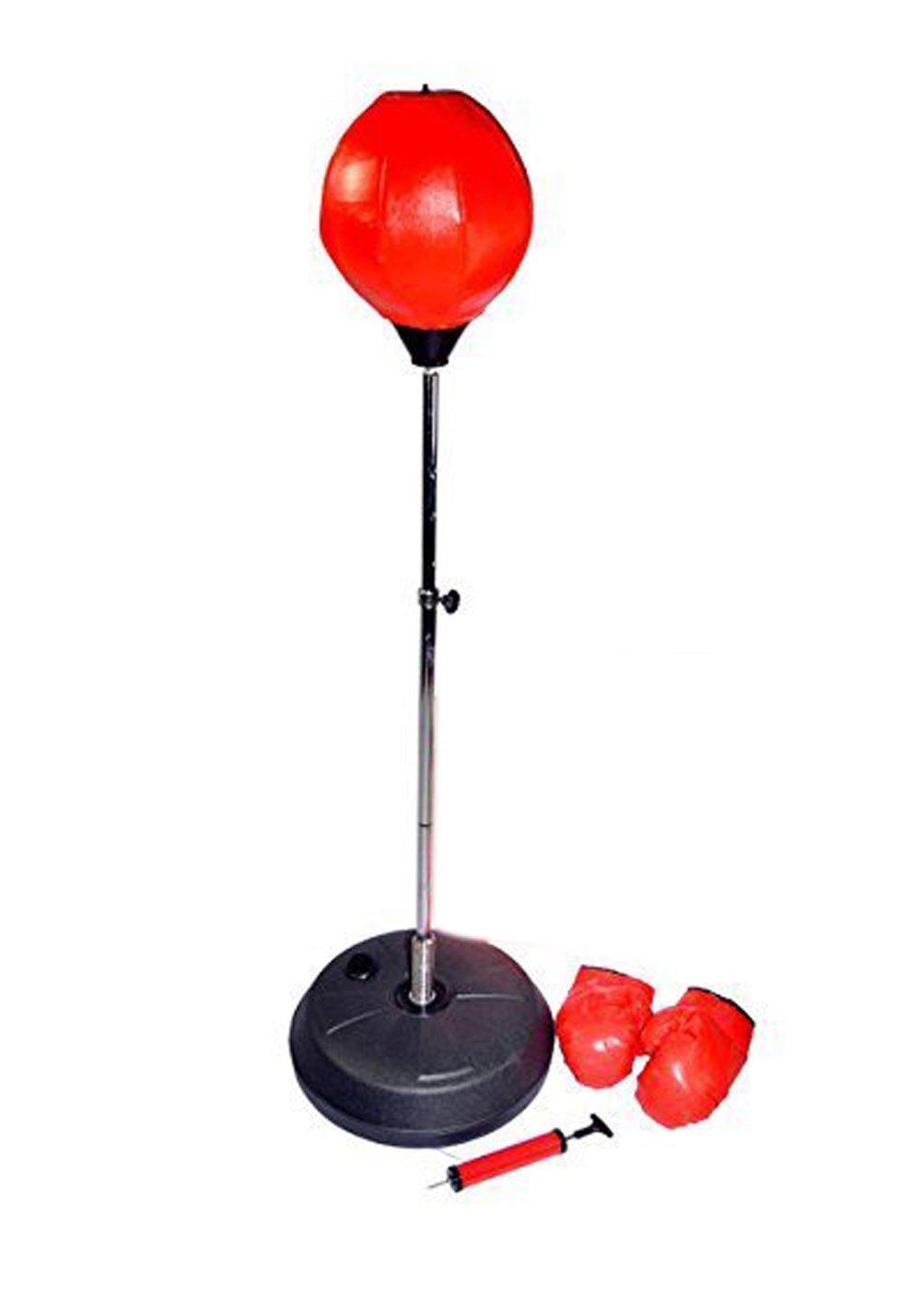 tonyko ajustable libre de pie punching velocidad bola bolsa con guantes de boxeo