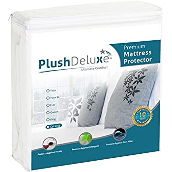 Amazon Com Plushdeluxe Premium Mattress Protector
