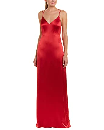 7c15cb002b Amazon.com  ZAC Zac Posen Women s Noel Gown Crimson 8  Clothing