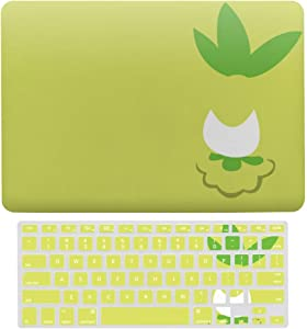 "2 in 1 Laptop Case for Apple MacBook Air 13"" w A1466/A1369 Rubberized Hard Shell Case Cover & Keyboard Cover(Poke-mon)"