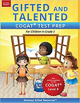 Who Are Gifted And Talented And What Do >> Amazon Com Gifted And Talented Cogat Test Prep Grade 2 Gifted Test