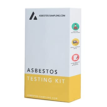 Asbestos Testing Kit/Sample Kit - 2 x Sample - Supplied with industry  approved protective equipment, UKAS accredited laboratory result
