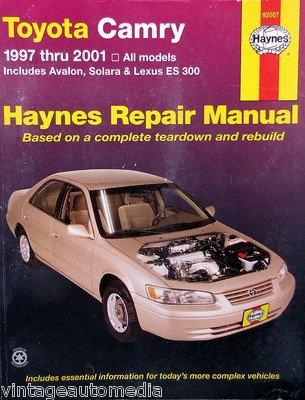 amazon com 1997 2001 haynes repair manual toyota camry 92007 rh amazon com Toyota Camry vs Honda Accord Toyota Camry Electrical Wiring Diagram