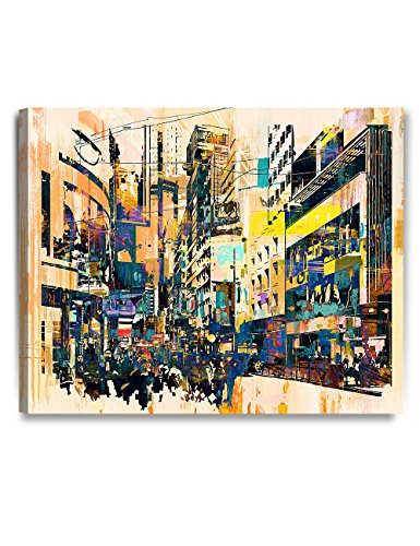 Abstract Cityscape Wall Art, Giclee Prints abstract art for Home Decor