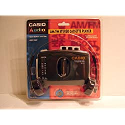 Casio Computer Co., LTD. Casio AS-201R Casio AM/FM Stereo Radio Cassette Player Model AS-201R