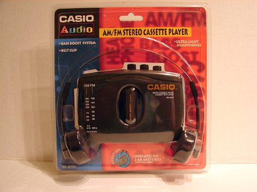 Casio Computer Co., LTD. Casio AS-201R Casio AM/FM Stereo Radio Cassette Player Model AS-201R ()