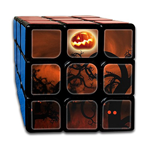 Pumpkin God Rubik's Puzzle Toy 3x3 Cube Speed Smooth (God Pumpkin)