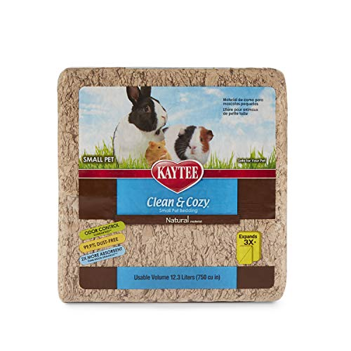 Kaytee Clean & Cozy Natural Small Animal Bedding, 12.3L (750 cu in)