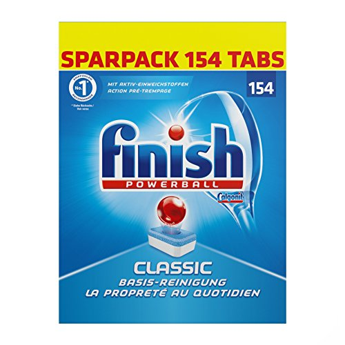Finish Classic Sparpack, 1er Pack (1 x 154 Tabs)