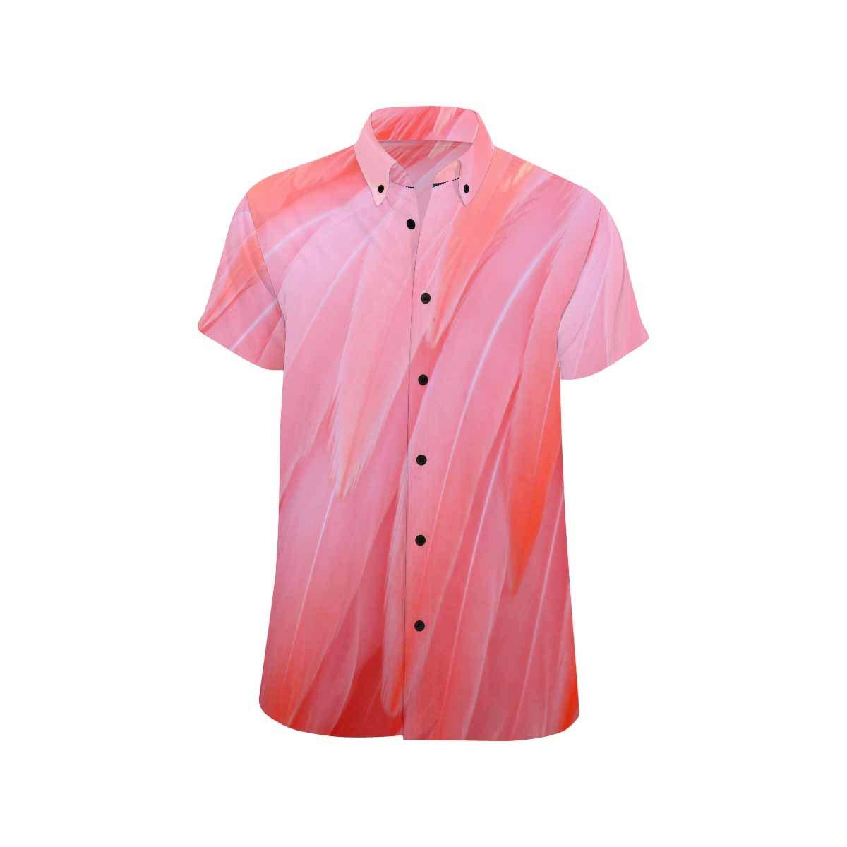 InterestPrint Casual Breadfruit Casual Button Down Beach Shirts S-5XL