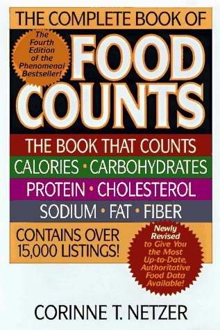 Read Online The Complete Book of Food Counts pdf
