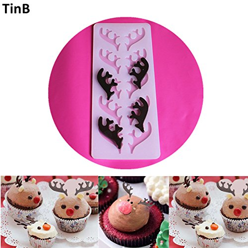 D Fondant Mold With New Design 2019, Deer Shape Cake Decoration Fondant Food Grade Silicone - Silicone Molds Cute, Cake D, Shapes Silicone Molds, D Cake, Silicone Shapes, Silicone Molds D