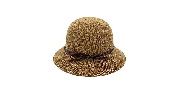 Sombrero De Sol De Algod/ón De Verano para Hombre 60-63Cm Sombreros De Cubo De Gran Tama/ño para Hombre 55-59Cm liqun Sombreros De Pescador De Talla Grande