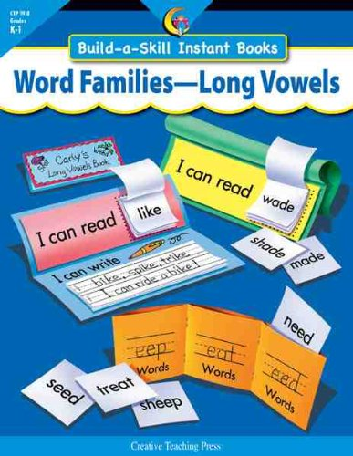 Word Families-long Vowels: Build-a-skill Instant  Books, Grades K-1 pdf epub