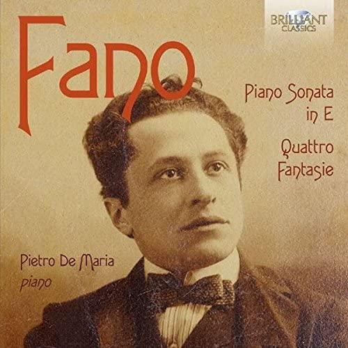 Sonata Per Pianoforte, 4 Fantasie: Fano Guido Alberto: Amazon.it: Musica