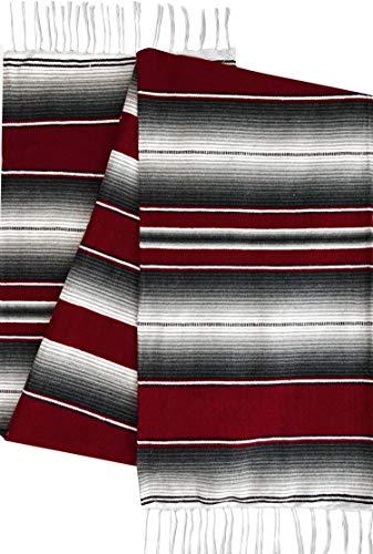 El Paso Designs Mexican Serape Blankets Bright & Colorful Saltillo Serape Blanket (X-Large, ()
