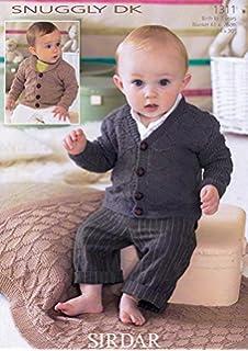 aa2cf3636 Sirdar 4782 Knitting Pattern Baby Boys Cardigans in Sirdar Supersoft ...