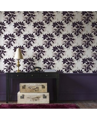 Laurence Llewelyn Bowen Velvet Undergrowth Wallpaper - 50-220: Amazon.co.uk: Kitchen & Home