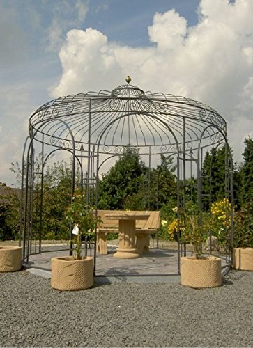 gartenlaube garten pavillon rosenpavillon pavillon eisen pavillon metall rund antwerpen. Black Bedroom Furniture Sets. Home Design Ideas
