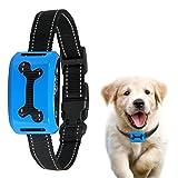 No Bark Collar, ColPet Rechargeable Anti Bark Collar Beep / Vibration / Safe Static Shock 7 Sensitivity Levels Bark Training Collar Reflective Strap for 15-150Ib Dogs